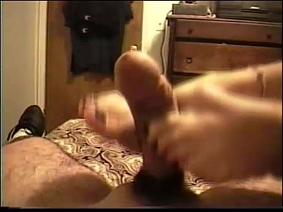 Firsttime Footjob Jordan video: Jordan 1st Time Footjob