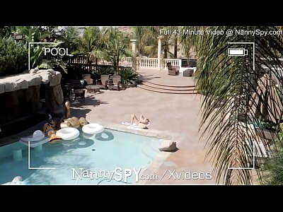 NannySpy Lying lazy nanny Alexis Adams caught o...