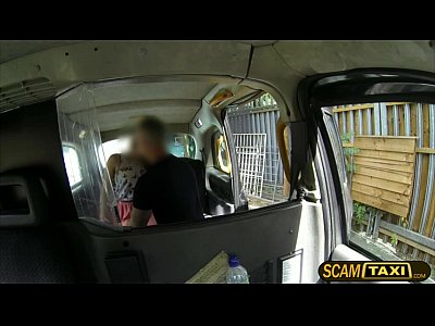 Candi Cumshot European video: Sexy Candi sucks and fucks in the backseat of the taxi with the pervy driver