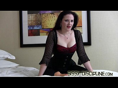 Crossdresshumiliation Crossdresser Crossdresserfemdom video: Put on this dress and lipstick for me