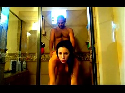 Tits Blowjob Girl video: Girl With Big Tits Fucks In The Shower