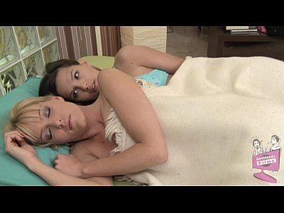 Blonde Brunette European video: Sophie Moone and Eve Angel Lesbian Adventure