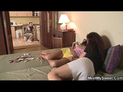 Familythreesome Maturecoupleandteen Maturecouplethreesome video: He finds his bitch in the family threesome