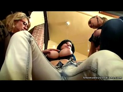 Lesbian Masturbation Reality video: Naughty old teacher got to teach lesbian sex teens with big tits