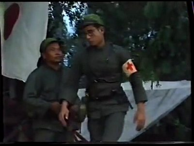 Vintage Thai movie: Thai Army and Village Girls