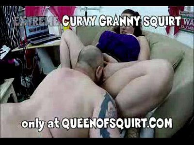 extreme curvy granny squirt preview