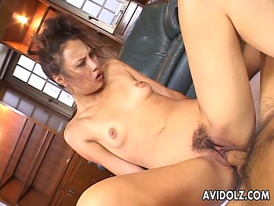 Asian Japanese Boobs video: Gorgeous Japanese slut loves to ride on a thick boner