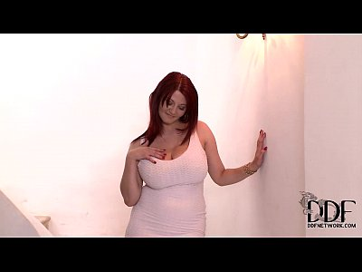 Dress Eyes Hair video: Vanessa Busts Her Luscious 34DD Tits Out Of Her Mini Dress