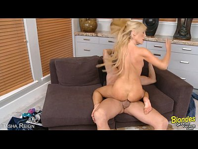 Hot blonde Tasha Reign gets slit fucked