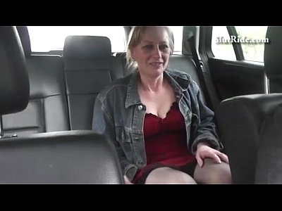 Blonde Blowjob Boobs video: Busty czech MILF fucks hard with horny taxi driver