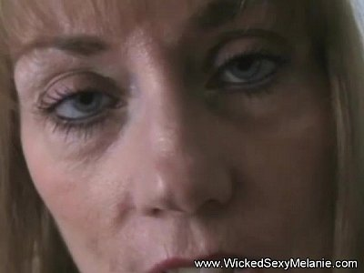 Blondes Blowjobs Cougar video: Mom Gives Son A Sweet Handjob