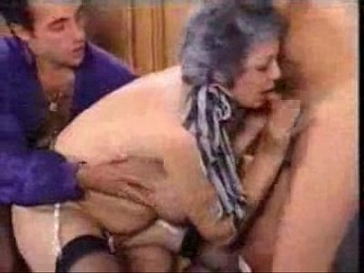 Fuck Grandmother Grandson video: Grandmother Fucks Son And His Grandson