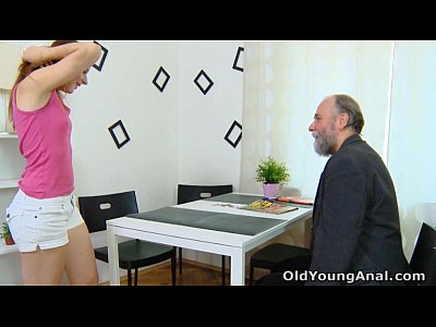 Russian Sex Teen vid: Sveta is waiting for her older man to arrive and fuck her