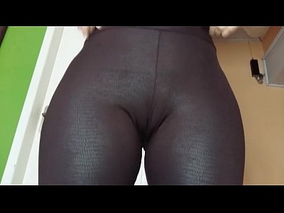 Pussy Booty Butt video: Legging Couro