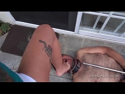 Footfetish Footworship movie: Christy Mack - Lick My Feet Pig