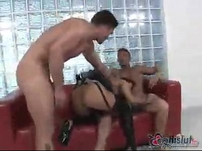 Valentina Velasques gets treated to a double fucking today