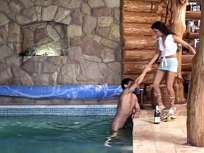 Group Teen Orgy video: Swimmingpool XXX