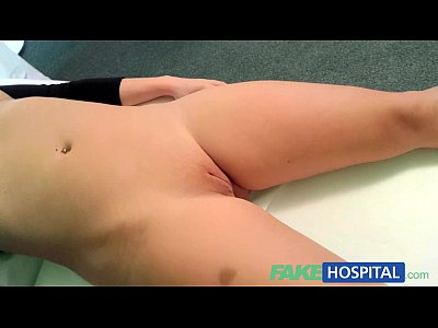 Blonde Doctor Exam video: FakeHospital Doctors cock heals sexy squirting blondes injury