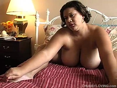 Beefy Belly Boobies video: Huge tits chubby babe loves to fuck her fat juicy pussy