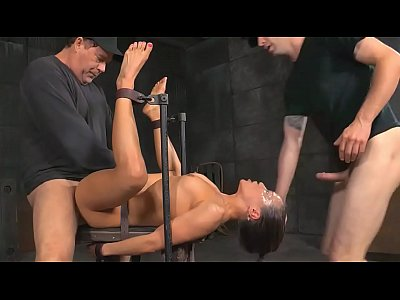 Threesome Deepthroat video: Extreme Deepthroat Bondage Fuck - more videos at sex-cams.xyz