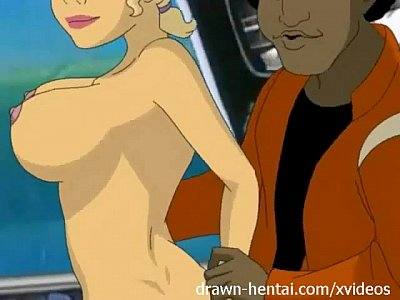 Animation Blonde Cartoon video: Sealab 2021 Hentai - Dr Quinn is in!