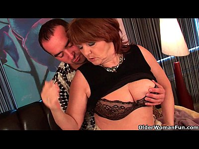 Milf Chubby Mature video: Chubby grandma gets fucked and takes a warm facial