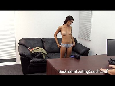 Amateur Backroom Casting video: Creampie 4 Teen on Casting Couch