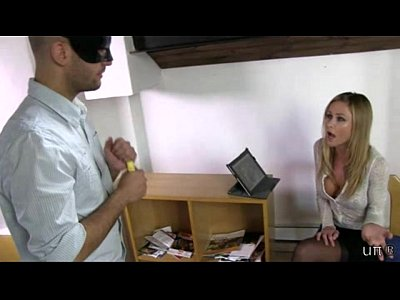 Footdomination Footfetish Humiliation video: UNP009-Sarah Jain Boss New Intern- Free