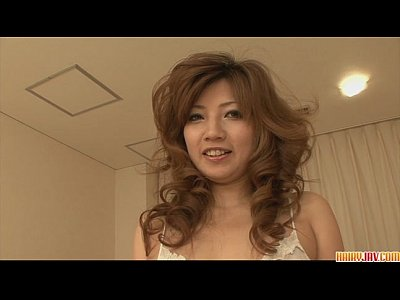 Masturbation Asian Japanese video: Woman in lingerie teasing and toying
