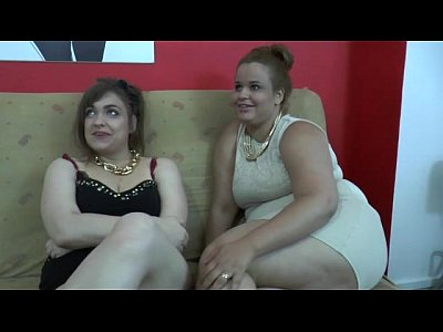Porno video: Severe gangbang for two French bbw