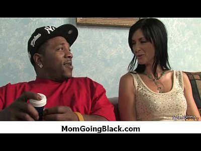 Black monster fucks my moms tight pussy 24
