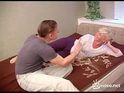 Russian Blonde Milf video: Blonde Russian Mom and Son