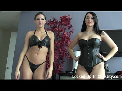Bdsm Femdom movie: Only one week of chastity left