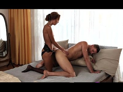 StrapOn Sexy babes fucking thier men in the ass with strapon cocks