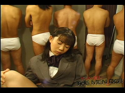 Asian Japanese video: Bukkake Highschool Lesson 11 1/4 Japanese uncensored blowjob