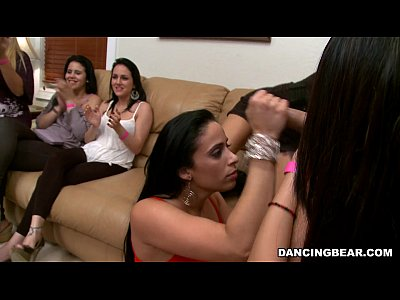 Blowjob Milf Party video: The Bear in the House!