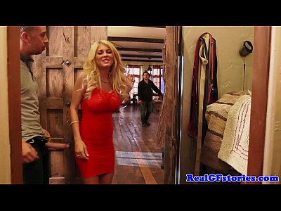 Beauty Bigtits Blonde video: Beautiful busty blonde fucks her horny ex