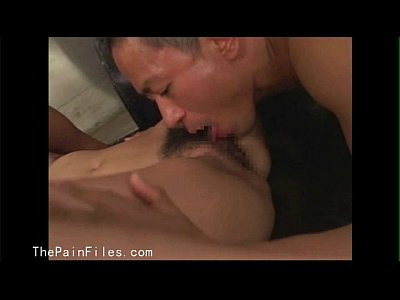 Japanese domination of sexually tortured oriental slaveslut in hardcore fucking