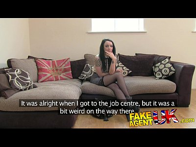 British Casting Hardcore video: FakeAgentUK Tattooed minx surprises agent with amazing fucking skills