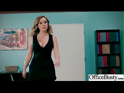 Sex In Office With Big Round Tits Girl (Alexis Adams) video-01