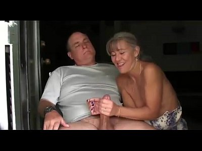 Handjob Mature video: Wife Does a Nice handjob