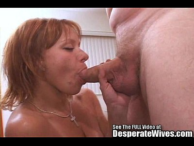 Blowjob Milf xxx: Red Haired Skank Wife Pounded By Dirty D