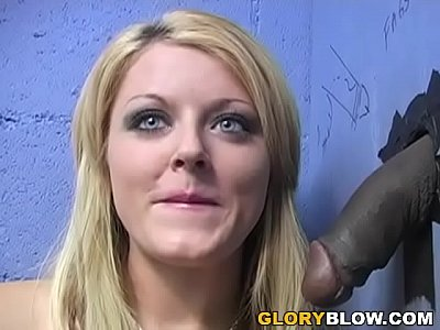 Sophie Dee Sucks BBC - Gloryhole