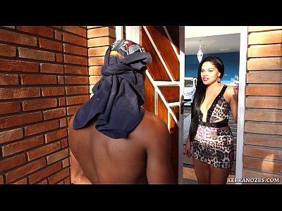 Cuckold Brazilian Femdom video: A dog's day for the limp Cuckold
