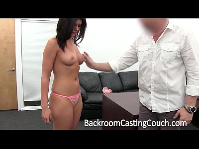 Facial Cum Couch vid: Anal Loving Party Favor Casting Demo