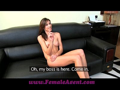 Pov Sex Boobs video: FemaleAgent Gorgeous and game for anything