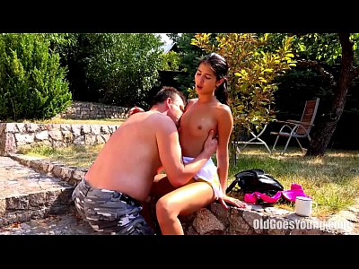Cumshot Doggystyle Hardcore video: Old Goes Young - Jody has nice tits