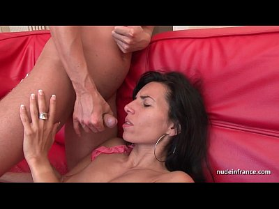 Amateur Hardcore French video: Sublime french milf deep anal fucked and finished with facial cumshot
