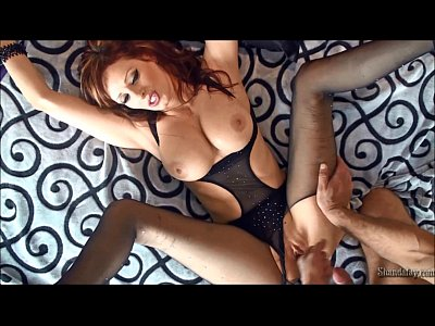 Stockings Brunette Milf video: Blow A Load on ShandaFay