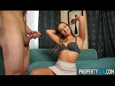Cowgirl Cumshot Doggystyle video: Property Sex - Desperate real estate agents fucks on camera to sell house